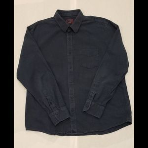 UNTUCKIT Gray Long Sleeve Button Up shirt